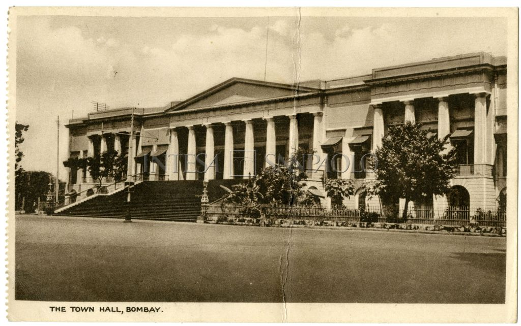 Bombay, Town Hall, ca. 1930-1935 (photographer unknown)