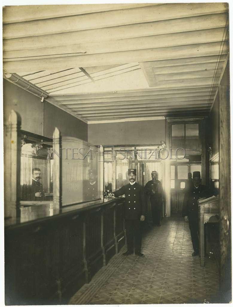 Società Commerciale d'Oriente (Comor), Istanbul branch, after 1907 (photographer unknown)